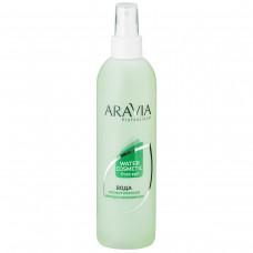 """Вода косметична мінералізована  """"ARAVIA PROFESSIONAL"""" з м'ятою і вітамінами  300 мл."""