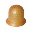 Шапочка для мелірування, резинова, коричнева, 1 шт