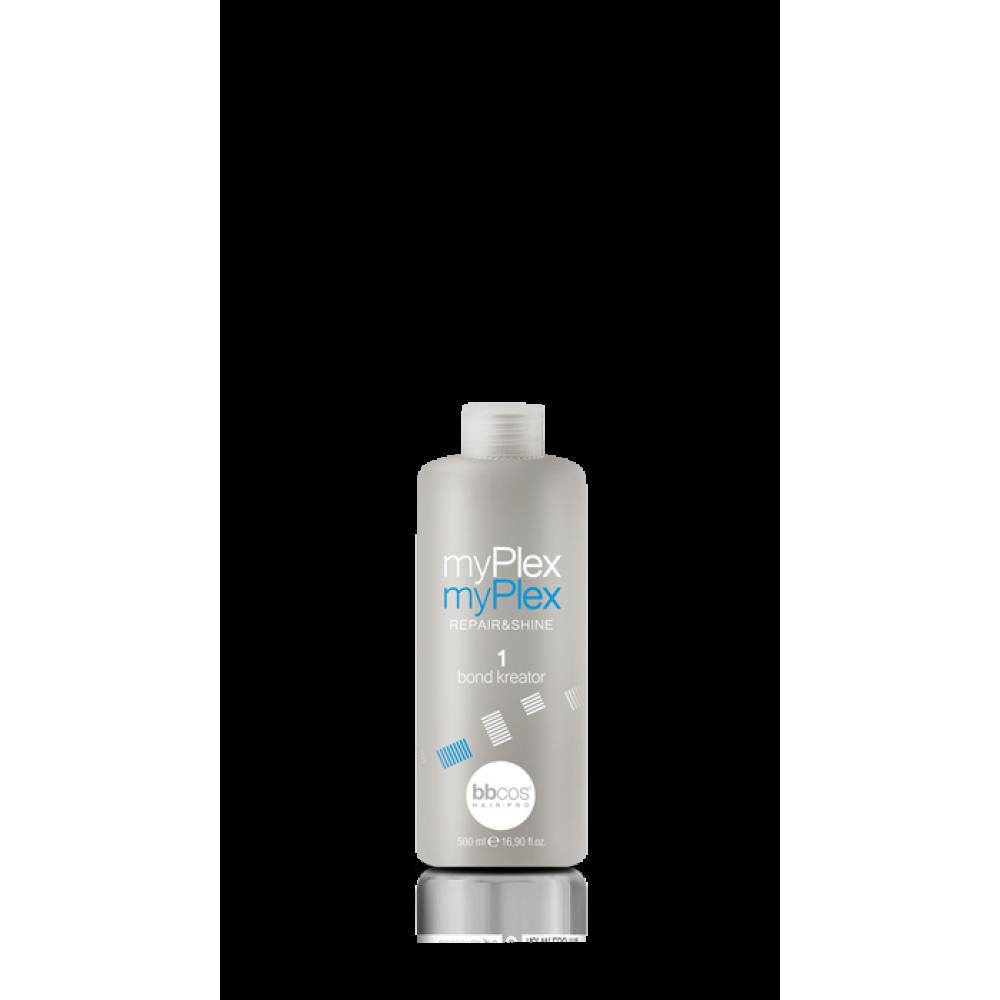 bbcos Art&Tech myPlex набір для поліпшення структури волосся (склад 1,2 по 500 мл)