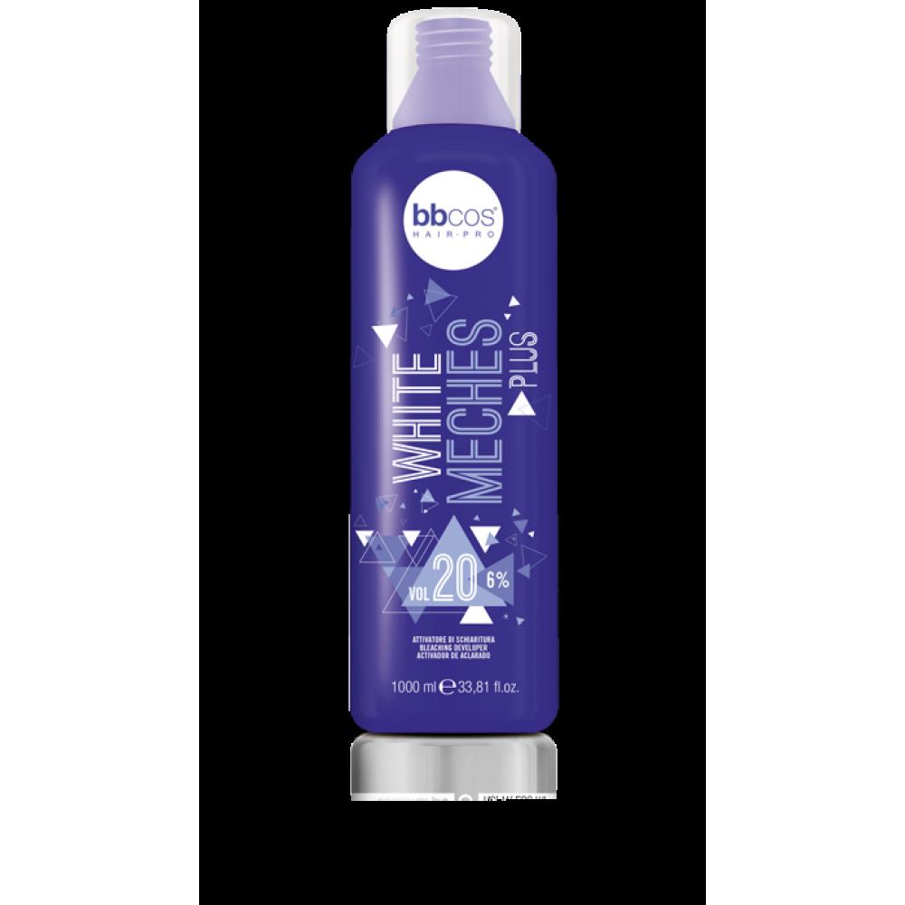 bbcos White Meches Plus Aктиватор для освітлення волосся 1000 мл
