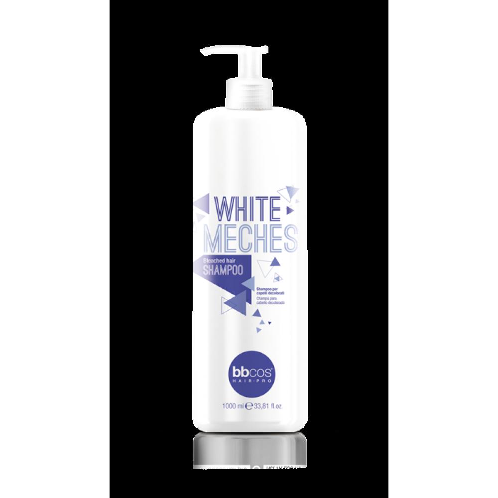 bbcos White Meches Шампунь для освітленого волосся 1000 мл