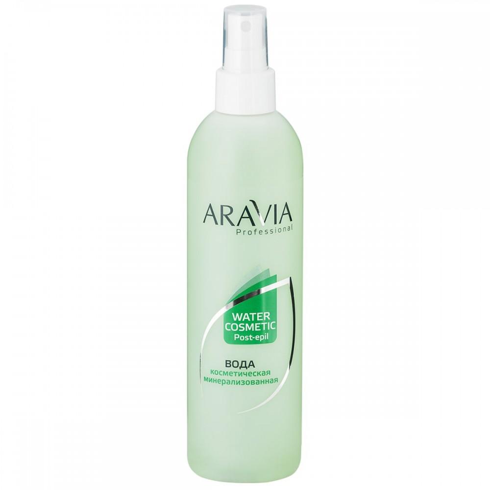 Aravia Professional Вода косметична мінералізована з м'ятою та вітамінами 300 мл