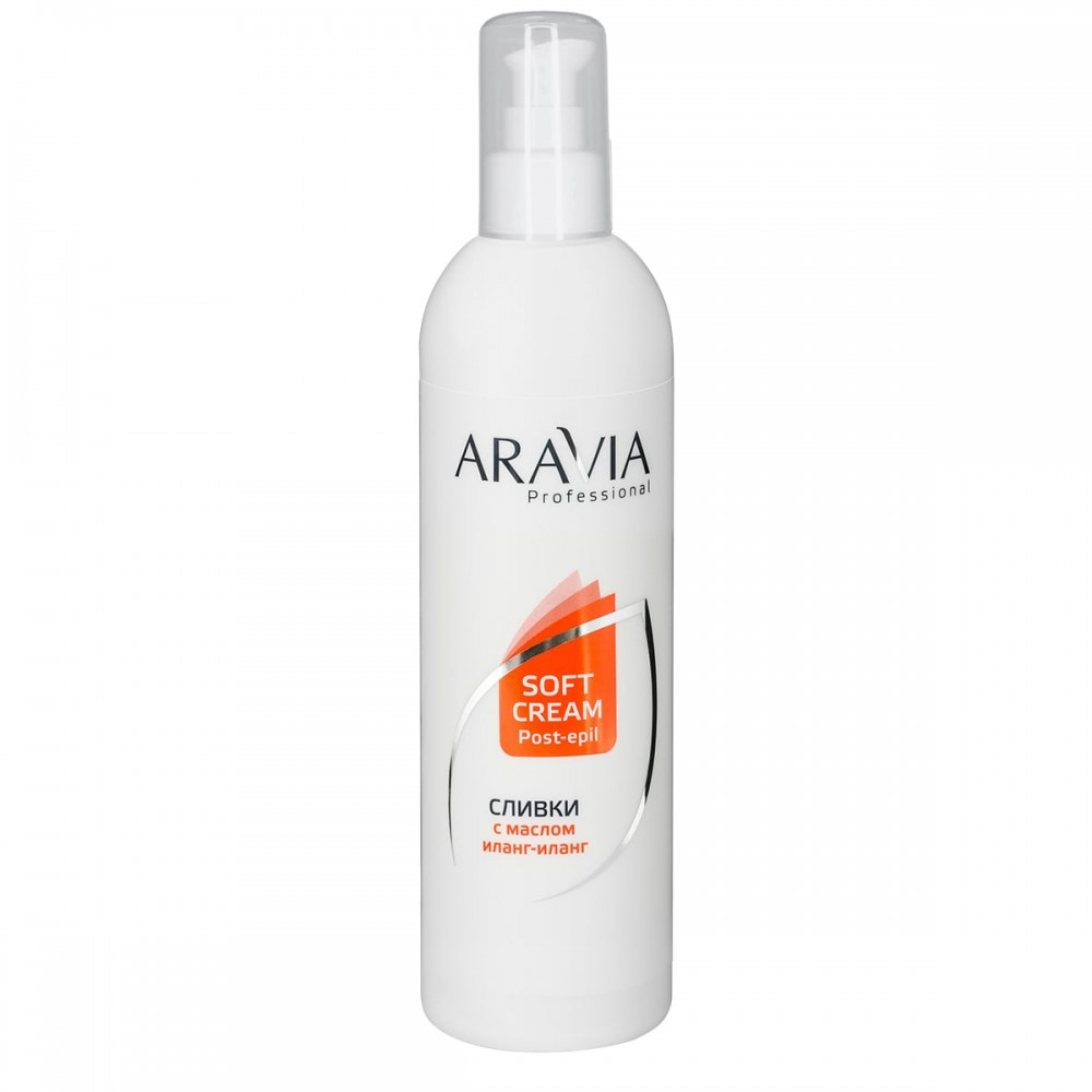 Aravia Professional Вершки з маслом іланг-іланг для відновлення рН шкіри 300 мл.