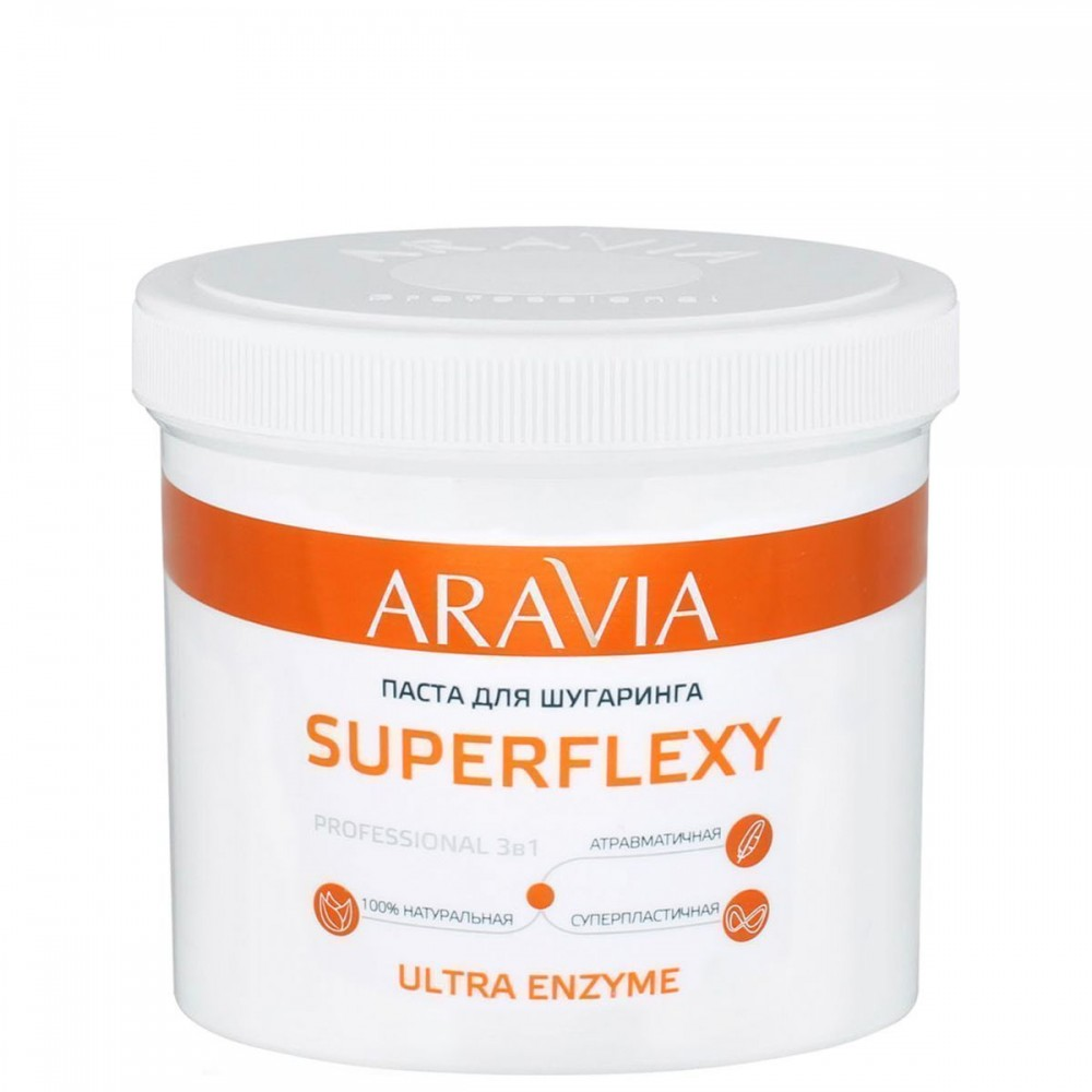 Aravia Professional Superflexy Ultra Enzyme Паста для шугарингу 750 мл