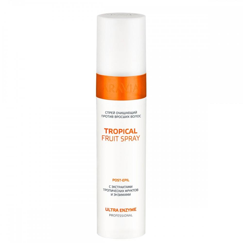 "Aravia Professional Спрей очищуючий проти врослого волосся ""Tropical Fruit Spray"", 250 мл."