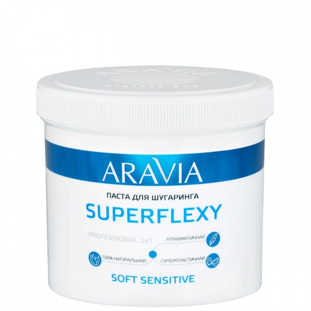 Aravia Professional Superflexy Soft Sensitive Паста для шугарингу 750 мл
