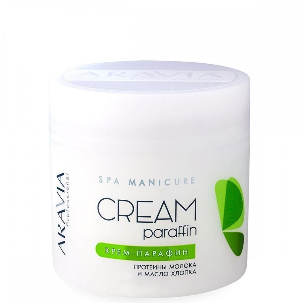 """Aravia Professional Крем-парафін """"Натуральний"""" з молочними протеінами і маслом бавовни 300 мл"""