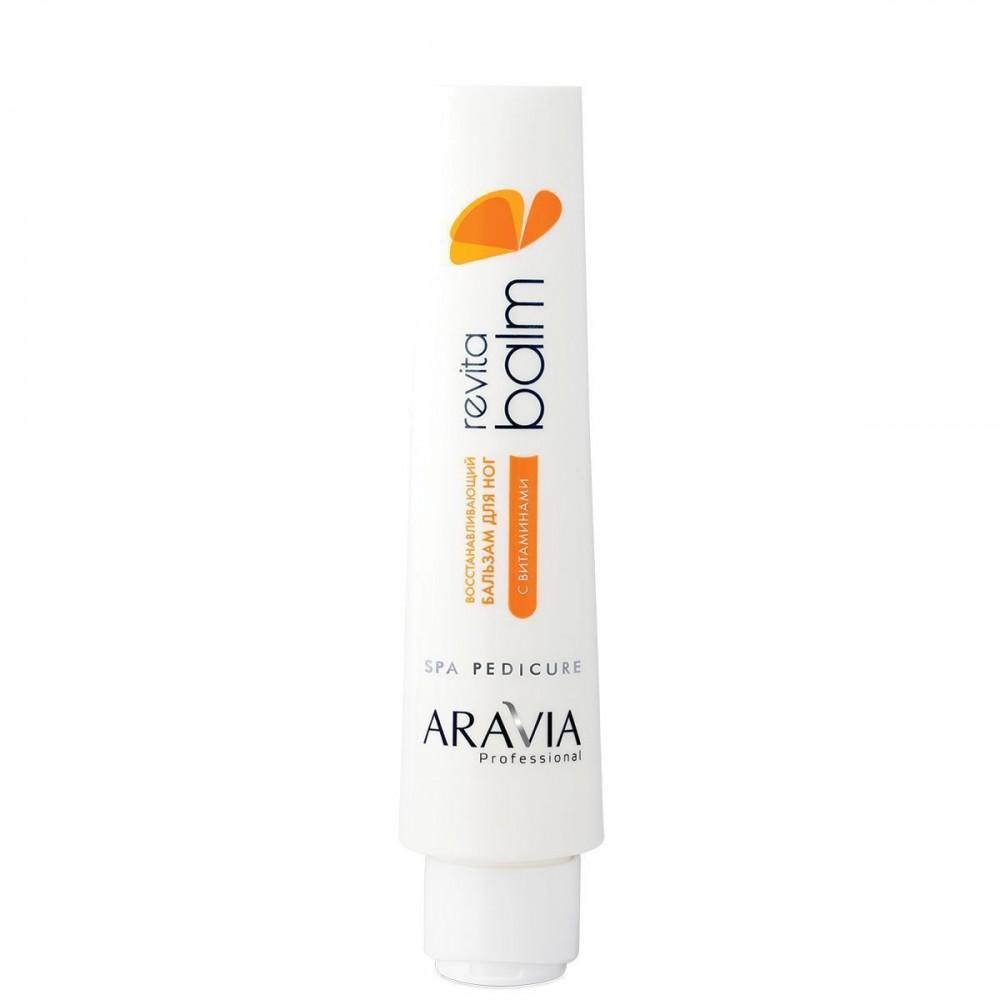 Aravia Professional Revita Balm Відновлюючий бальзам для ніг з вітамінами 100 мл
