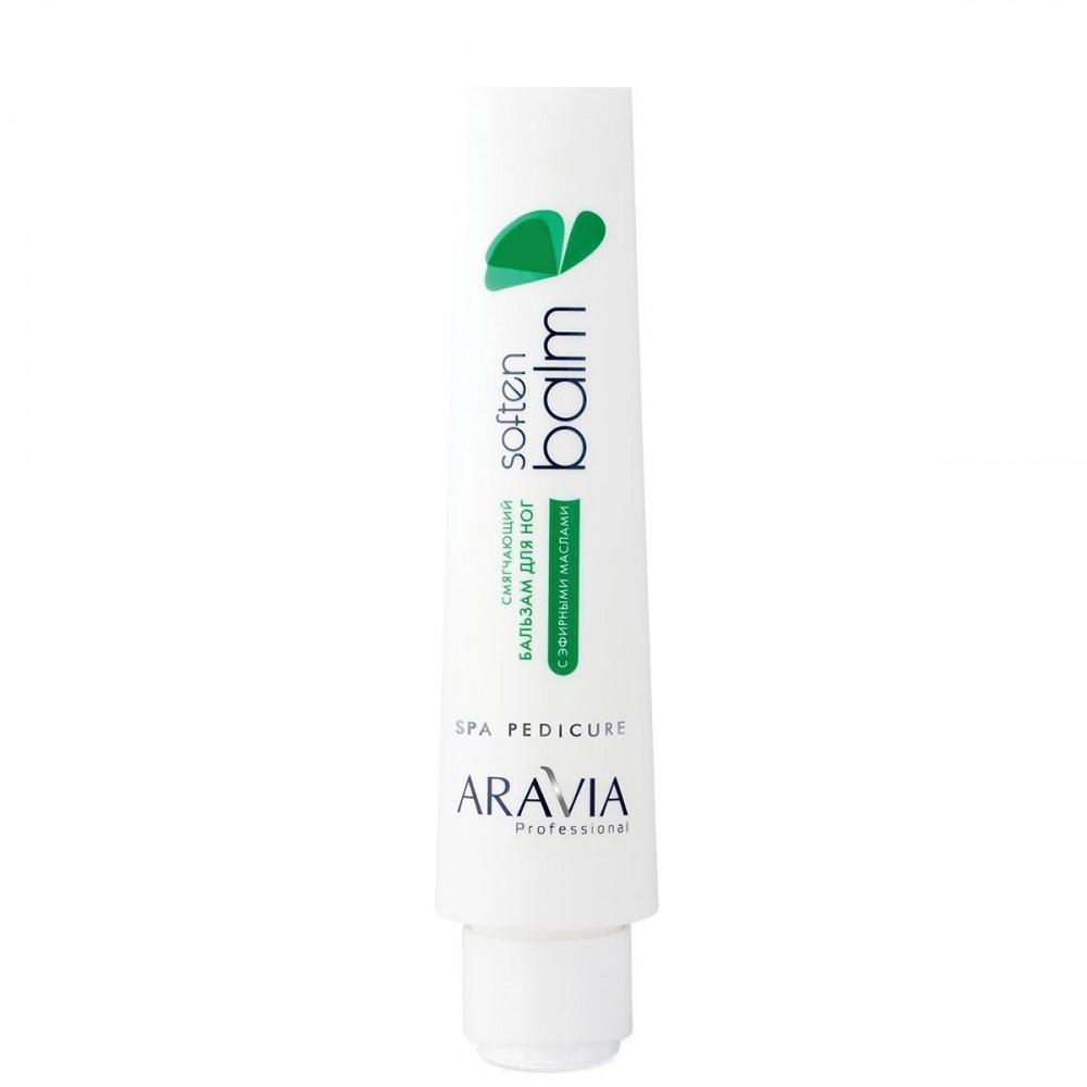 """Aravia Professional Пом'якшуючий бальзам для ніг з ефірними оліями """"Soft Balm"""", 100 мл"""