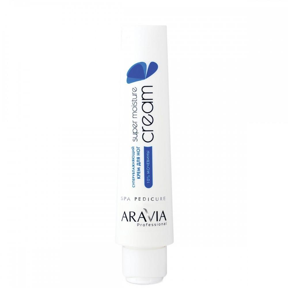 """Aravia Professional Суперзволожуючий крем для ніг з сечовиною """"Super Moisture"""", 100 мл."""