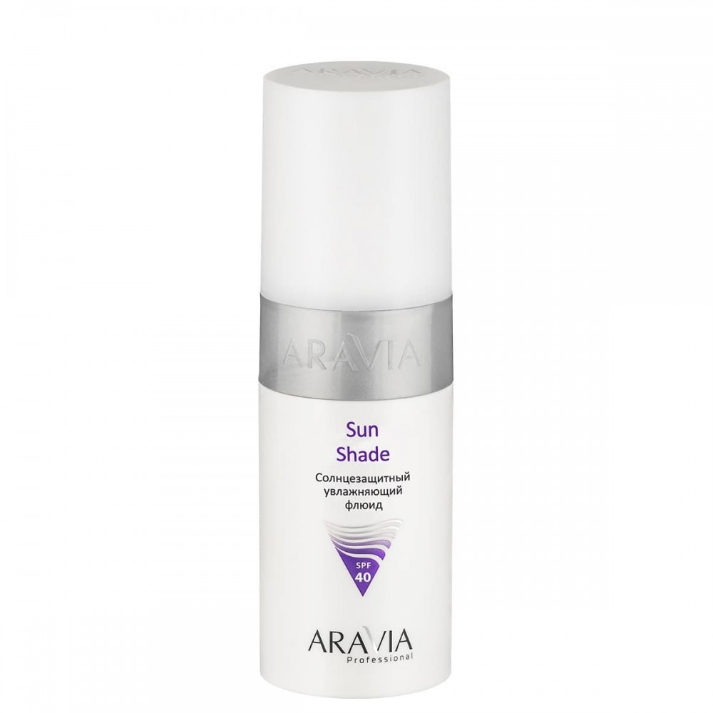 "Aravia Professional Сонцезахисний зволожуючий флюїд ""Sun Shade"" SPF40 150 мл."