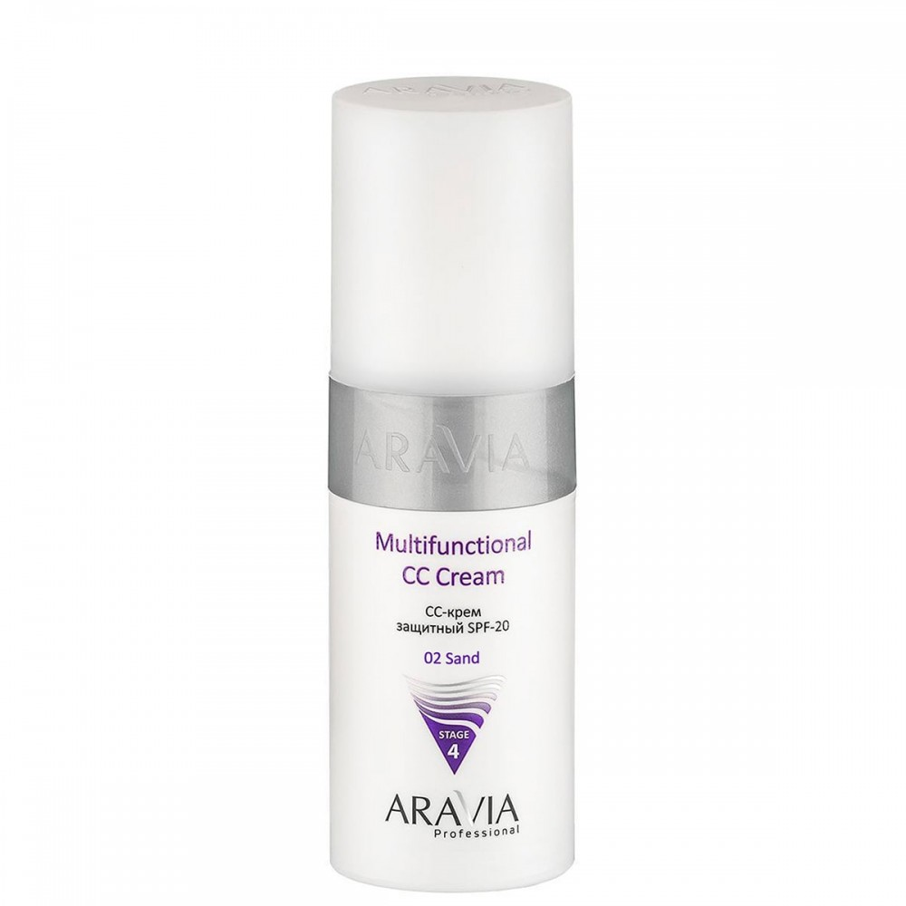 "Aravia Professional CC-крем захисний ""SPF-20 Multifunctional CC Cream "", 150 мл."