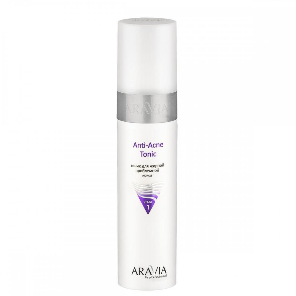 """Aravia Professional Тонік для жирної проблемної шкіри """"Anti-Acne Tonic"""", 250 мл."""