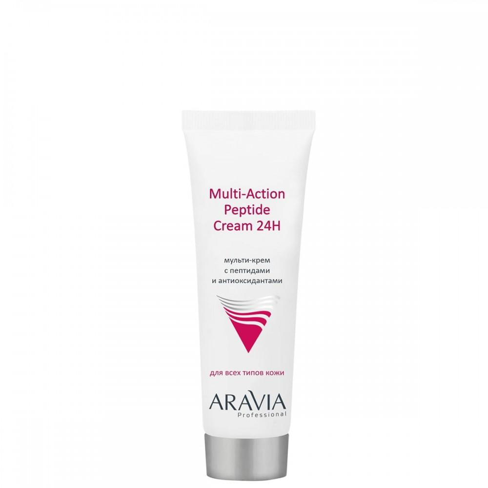 Aravia Professional Muliti-Action Peptide Cream Мульти-крем з пептидами 50 мл