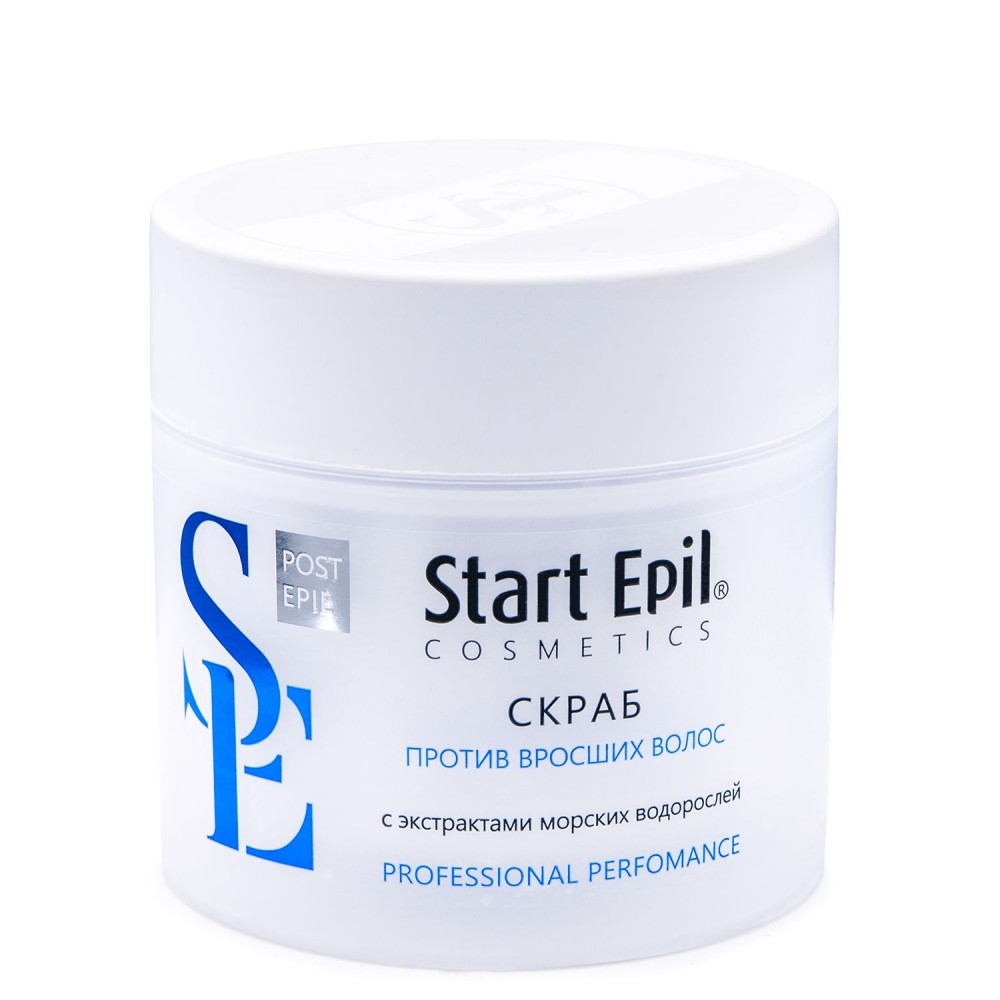 Start Epil Скраб проти врослого волосся з екстрактом морських водорослей 300 мл