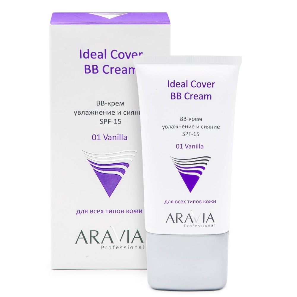 Aravia Professional Ideal Cover BB Cream SPF-15 01 Vanilla 50 мл