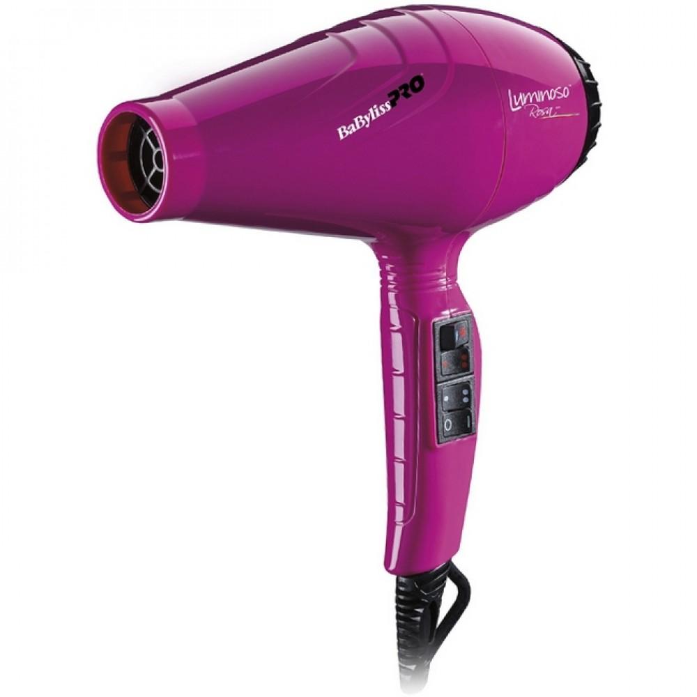 BaByliss PRO Luminoso Rosa Фен 2100 Вт