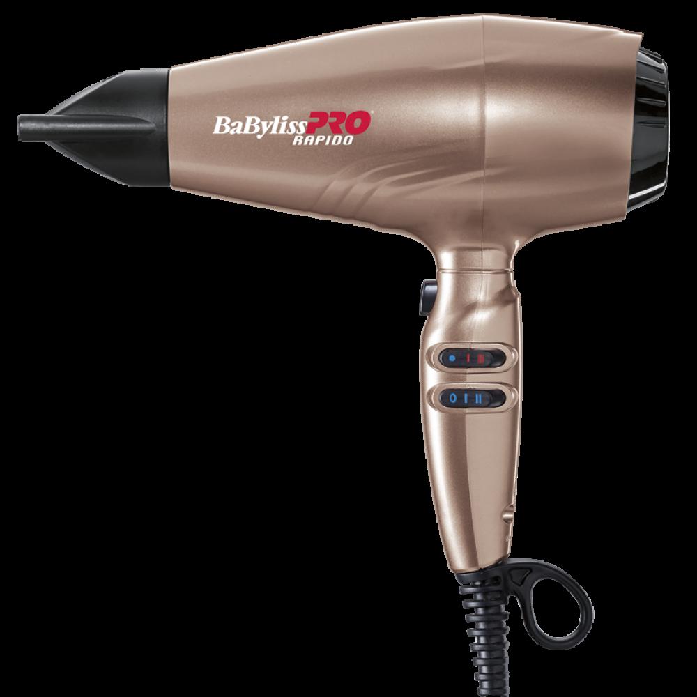 BaByliss PRO Rapido Фен 2200 Вт рожеве золото