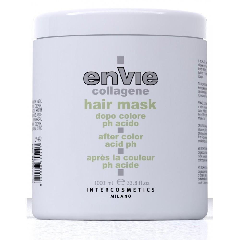Envie Collagene Маска для фарбованого волосся 1000 мл