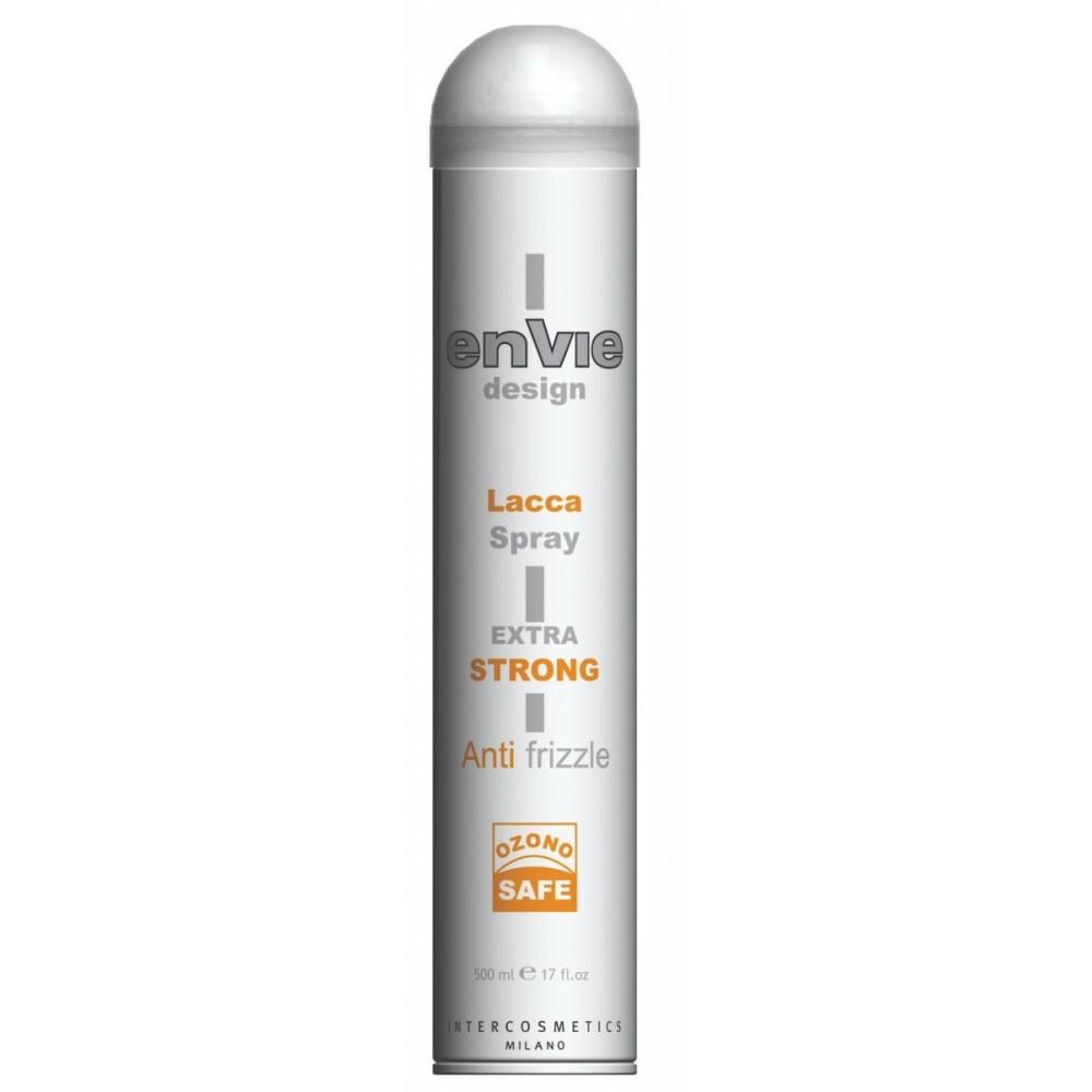 Envie Design Lacca Spray Extra Strong Лак сильної фіксації 500 мл