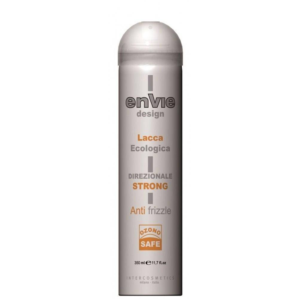 Envie Design Lacca Strong Лак без газу сильної фіксації 350 мл