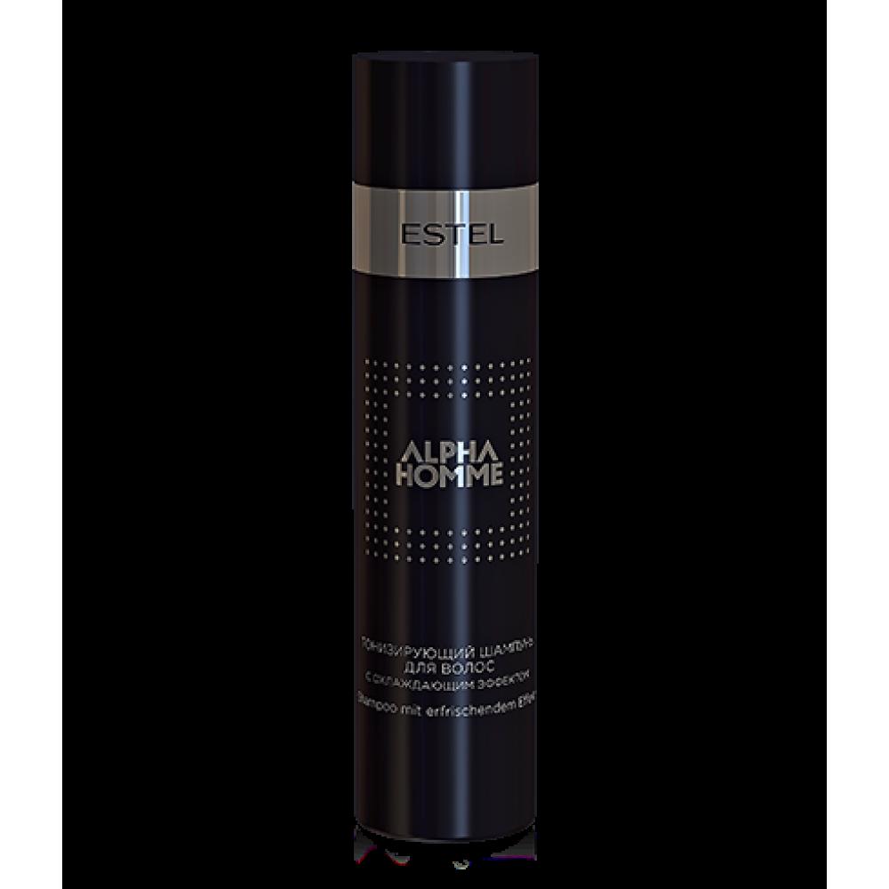 Alpha Homme Тонізуючий шампунь з охолоджуючим ефектом 250 мл