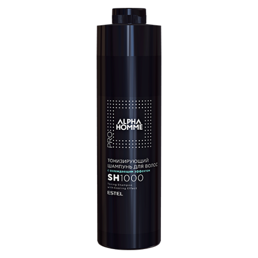 Alpha Homme Pro Тонізуючий шампунь для волосся з охолоджуючим ефектом, 1000 мл