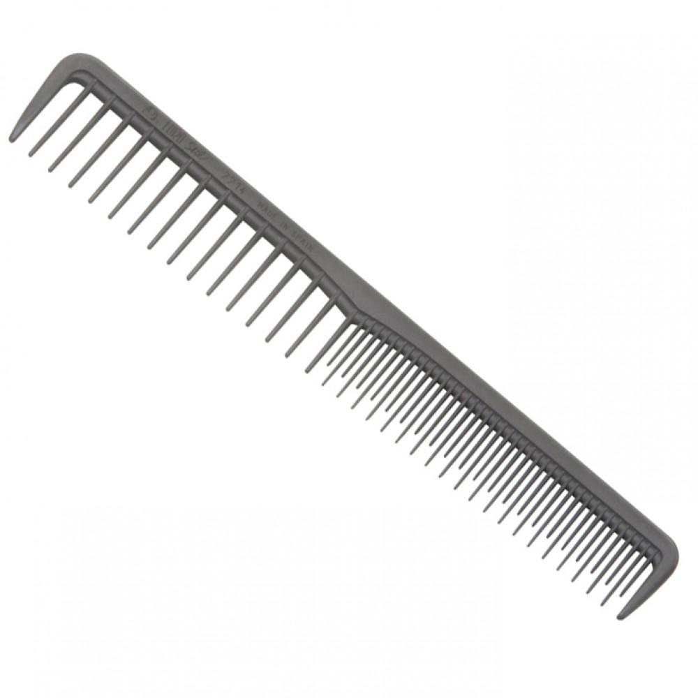 Eurostil 2214 Carbon Гребінець з рідкими зубцями 17,5 см