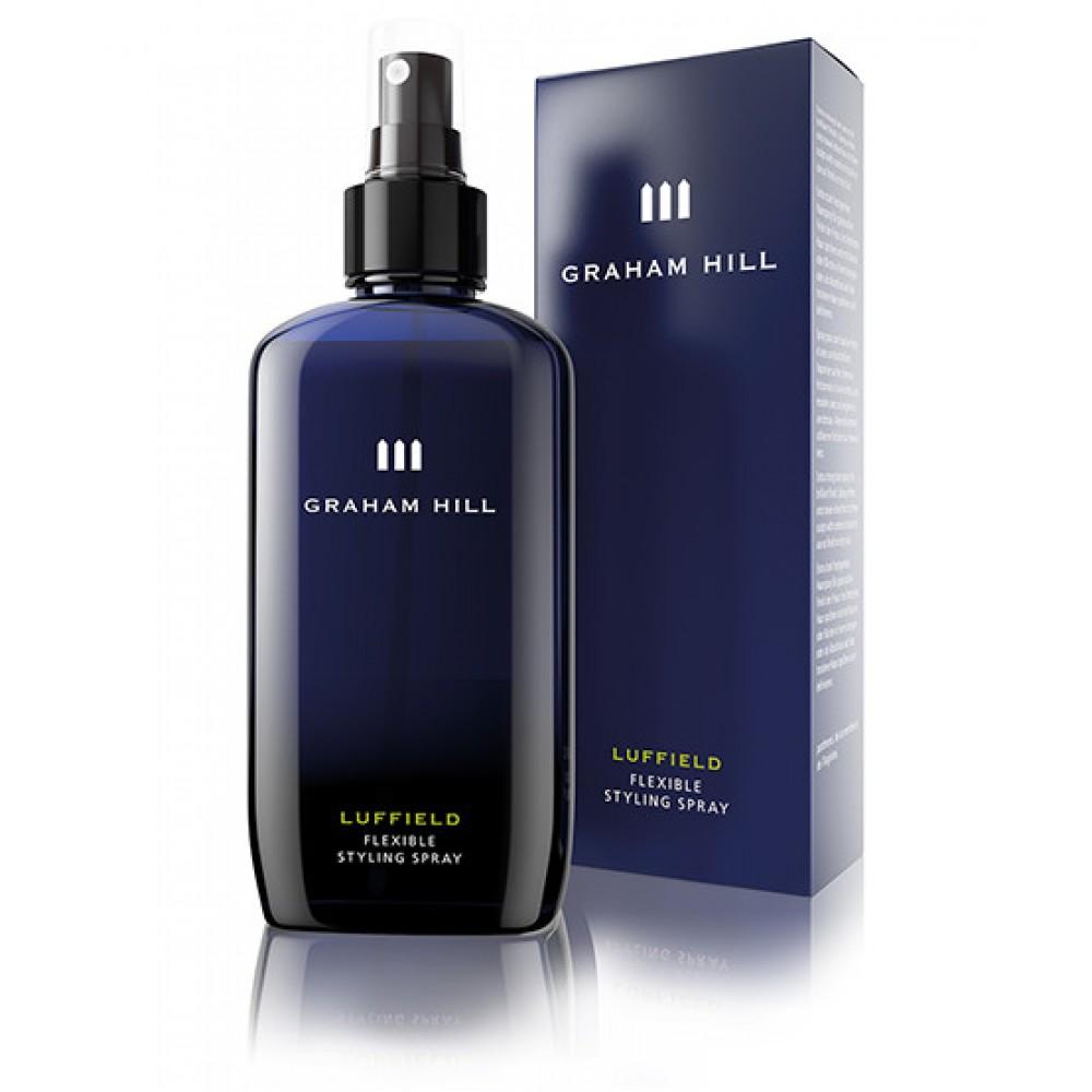 Graham Hill Luffield Flexible Styling Spray Спрей для волосся екстрасильної фіксації 200 мл