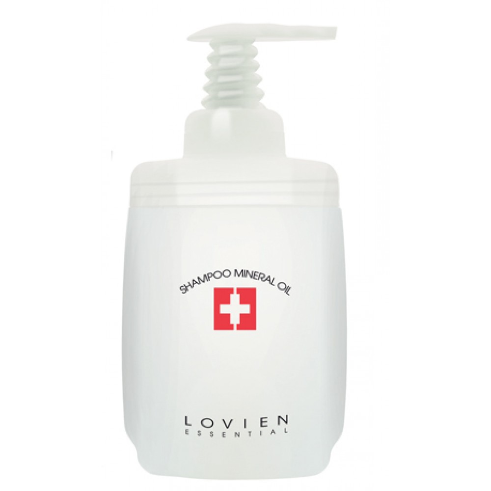 Lovien Mineral Oil Shampoo Шампунь з мінеральною олією для пошкодженого волосся 1000 мл.
