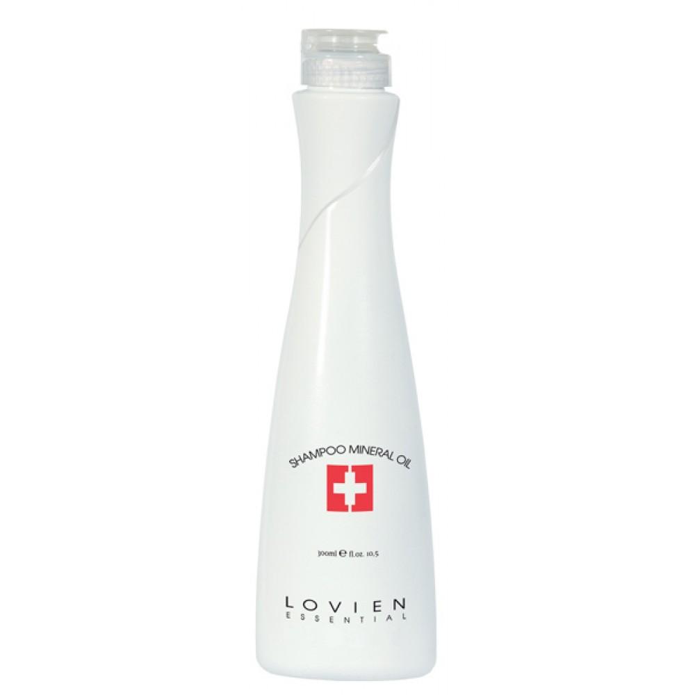 Lovien Mineral Oil Shampoo Шампунь з мінеральною олією для пошкодженного волосся 300 мл.