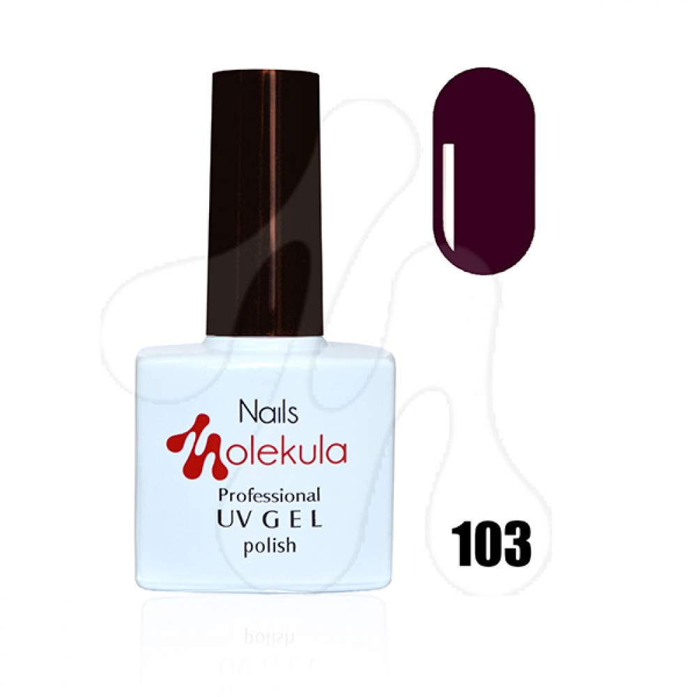 Molekula Гель-лак 103 Темно бордовий 11 мл.