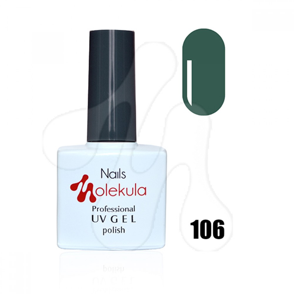 Molekula Гель-лак 106 Зелена сосна 11 мл.