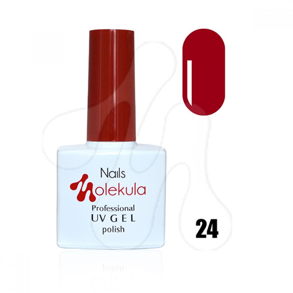 Molekula Гель-лак 024 Червоний классік 11 мл.