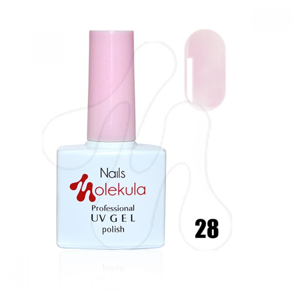 Molekula Гель-лак 028 Димчасто рожевий 11 мл.