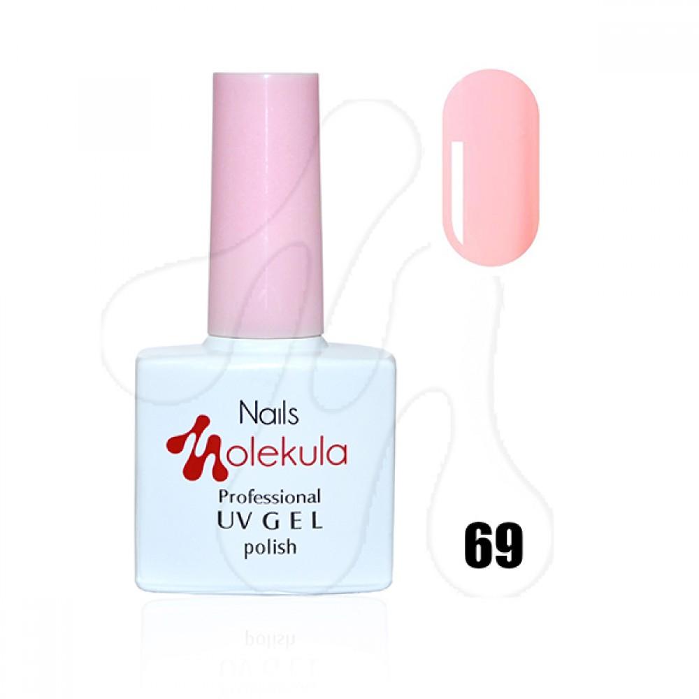 Molekula Гель-лак 069 Світло рожевий 11 мл.