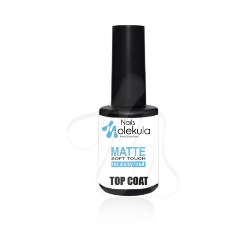 Molekula Top Coat Matte Soft touch без липкого шару 12 мл.