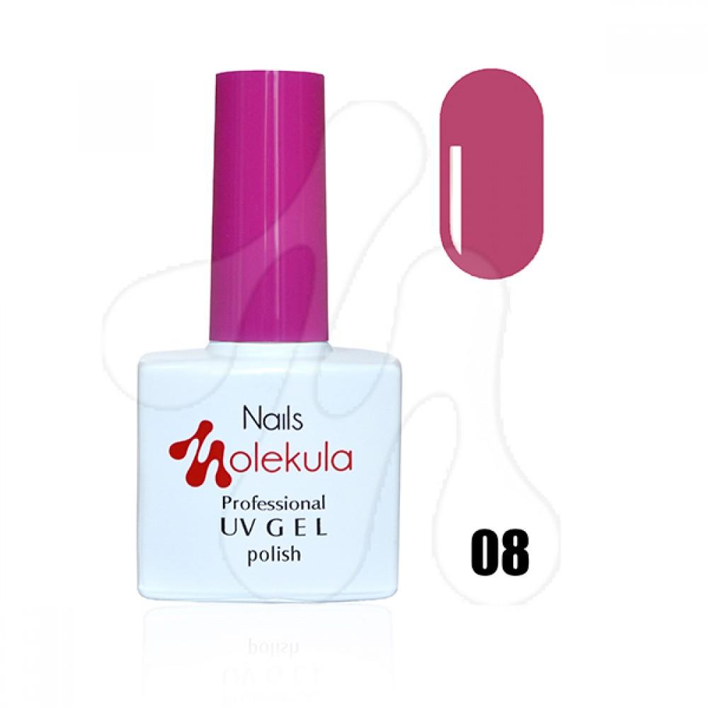 Molekula Гель-лак 008 Рожева ягода 11 мл