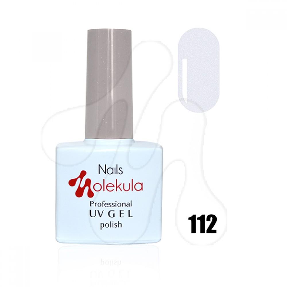 Molekula Гель-лак 112 Перламутр срібло 11 мл