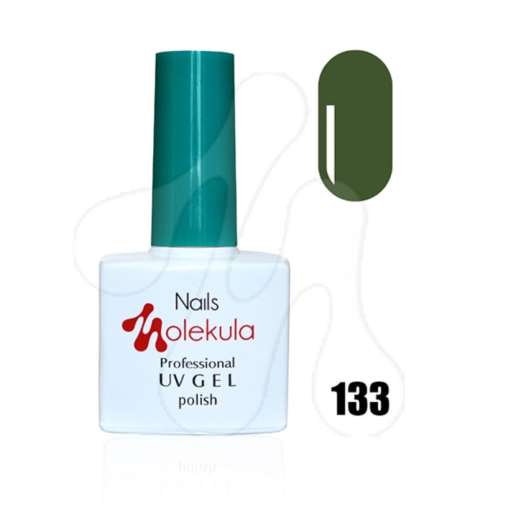 Molekula Гель-лак 133 Темно-оливковий 11 мл