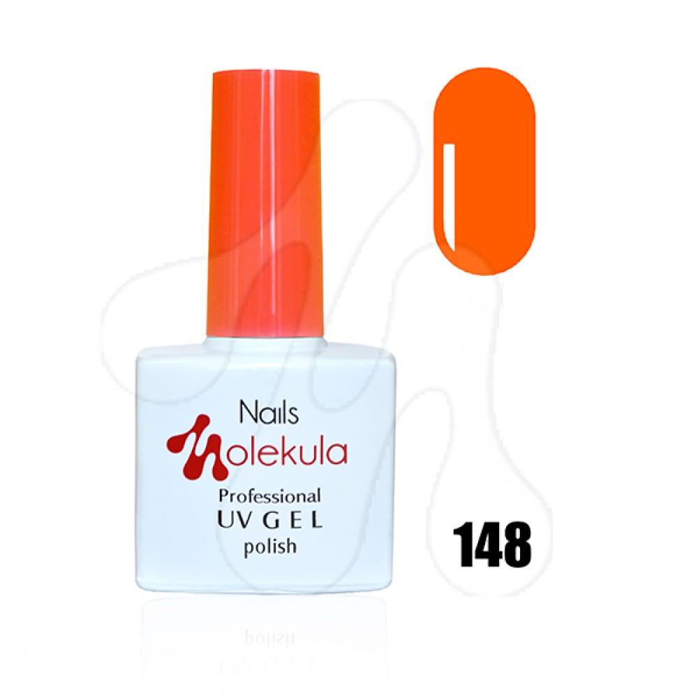 Molekula Гель-лак 148 Оранжево-рудий неон 11 мл