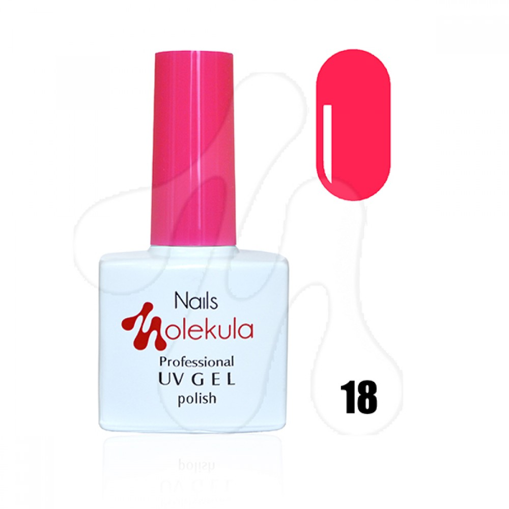 Molekula Гель-лак 018 Яскраво-рожевий 11 мл