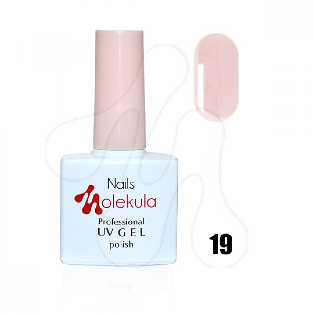Molekula Гель-лак 019 Бежево-рожевий френч 11 мл