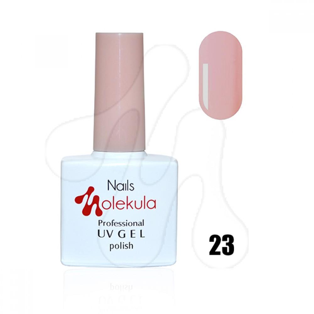 Molekula Гель-лак 023 Рожевий френч 11 мл
