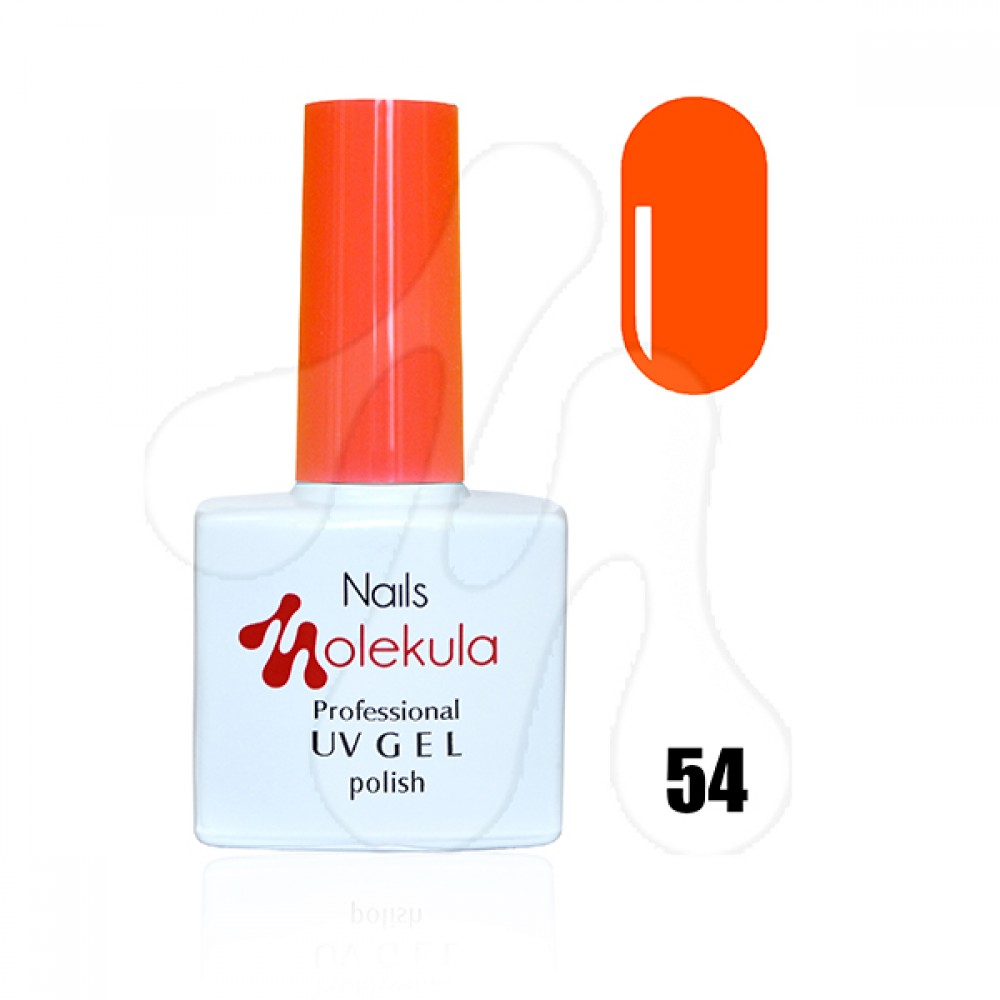 Molekula Гель-лак 054 Оранжевий неон 11 мл