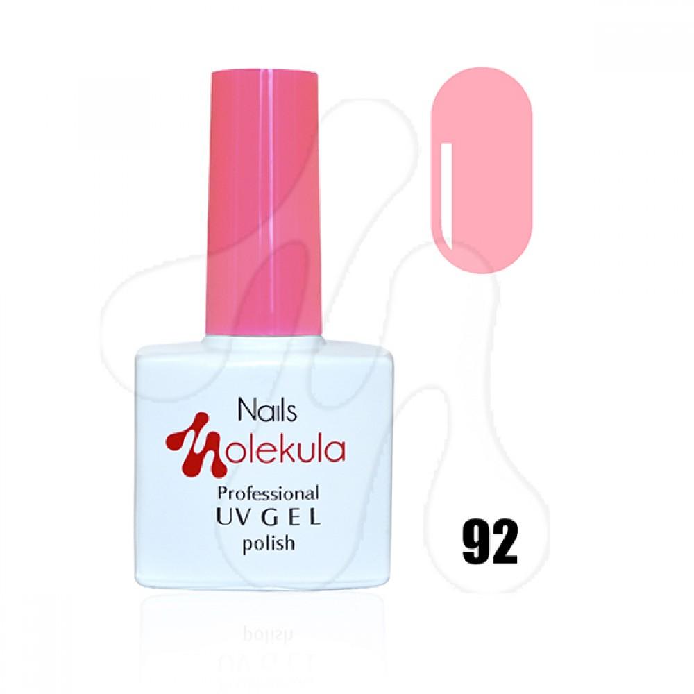 Molekula Гель-лак 092 Світло-рожевий 11 мл