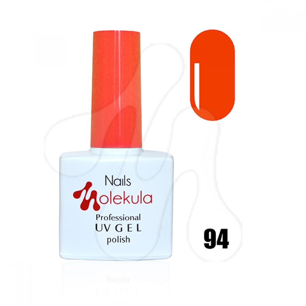 Molekula Гель-лак 094 Оранж неон 11 мл