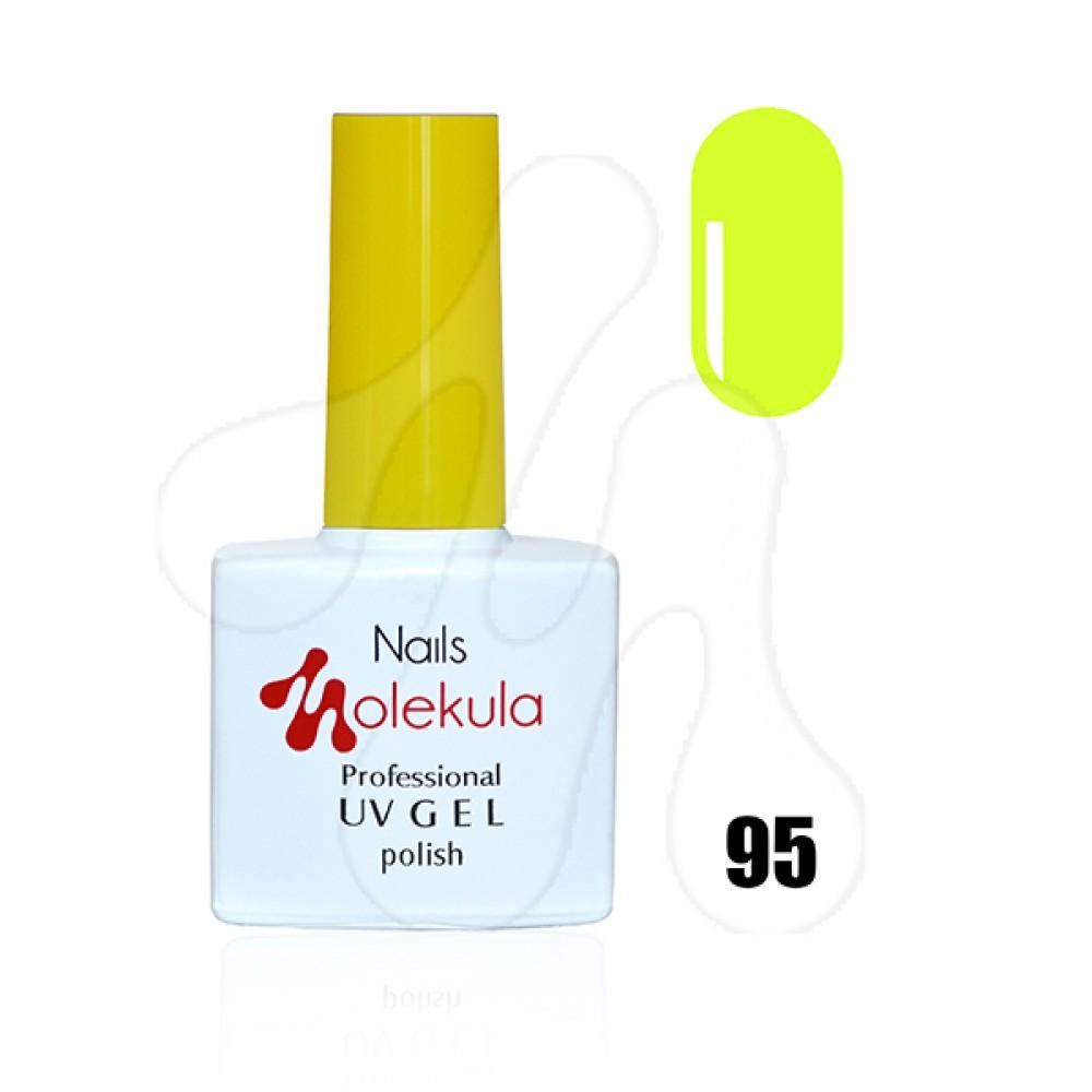 Molekula Гель-лак 095 Лимонний неон 11 мл