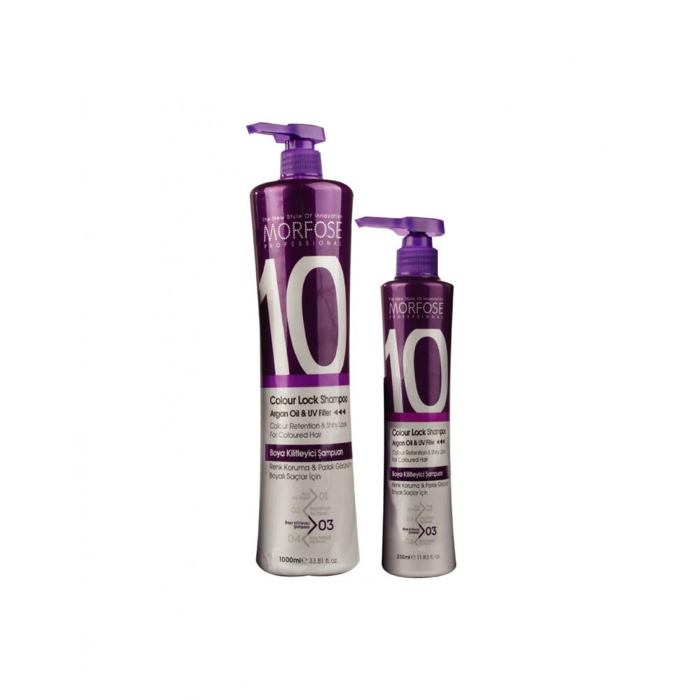 Morfose 10 Color Lock Шампунь для волосся 1000 мл