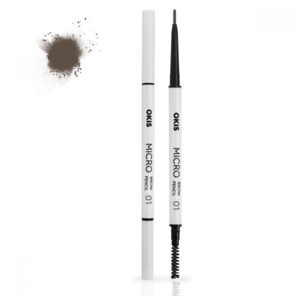 Okis Brow Micro Pencil 01 Hot Brunette Олівець для брів